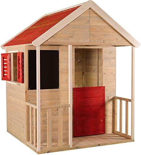 casetta di legno per bambini