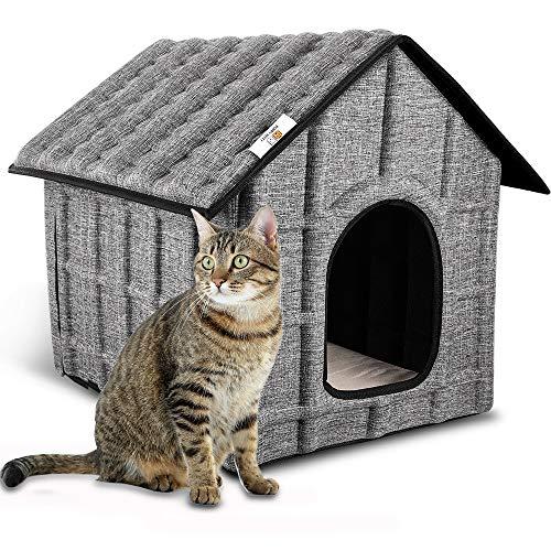 casette di legno per gatti