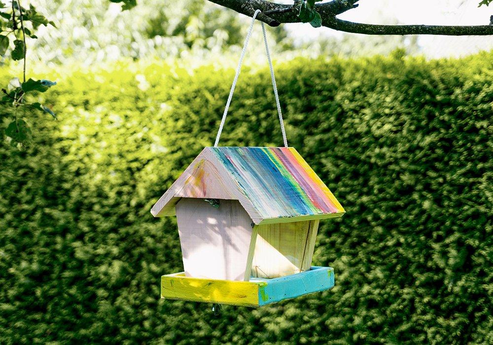 casette di legno per uccellini