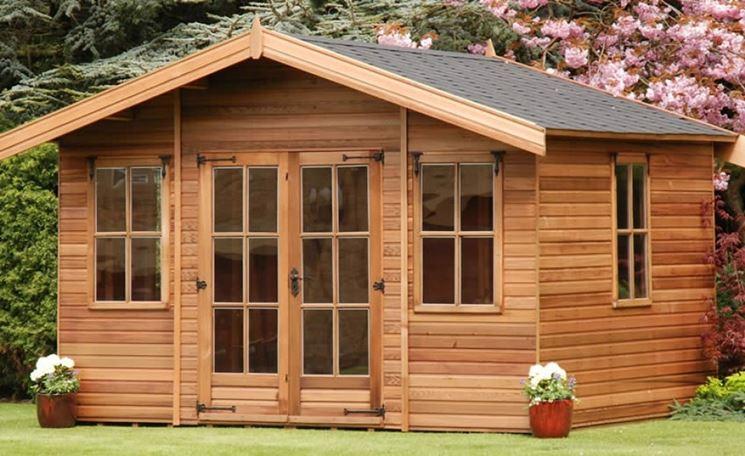 casette di legno prefabbricate